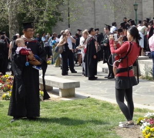 Graduation 2015 021-couple with child cropped