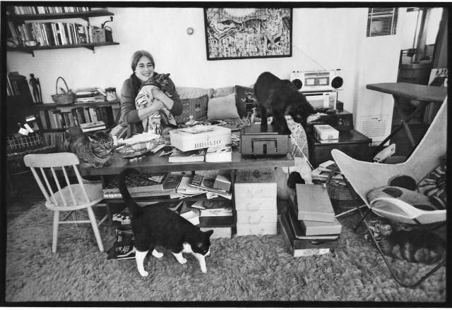 Carole and kitties