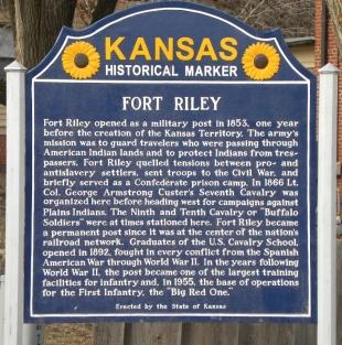 fort_riley historical marker