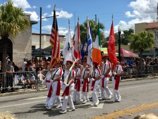 New Port Richey flag bearers