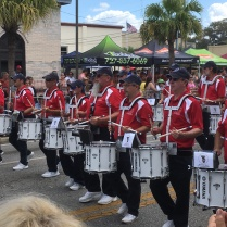 New Port Richey parade drums