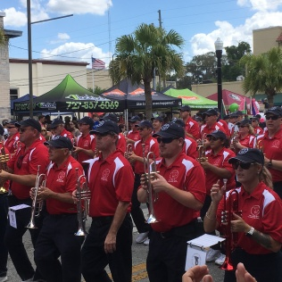 New Port Richey parade trumpets
