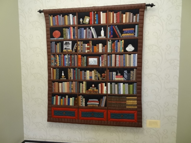 Wabash Liby Book Quilt