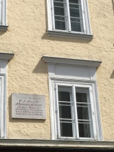 Old Town-Nannerl Mozart House sign