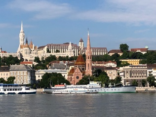Danube-view of Pest 1