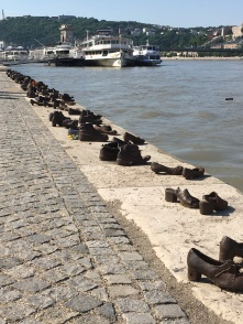 Shoes on the Danube B
