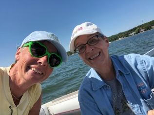 Boating on Crooked Lake