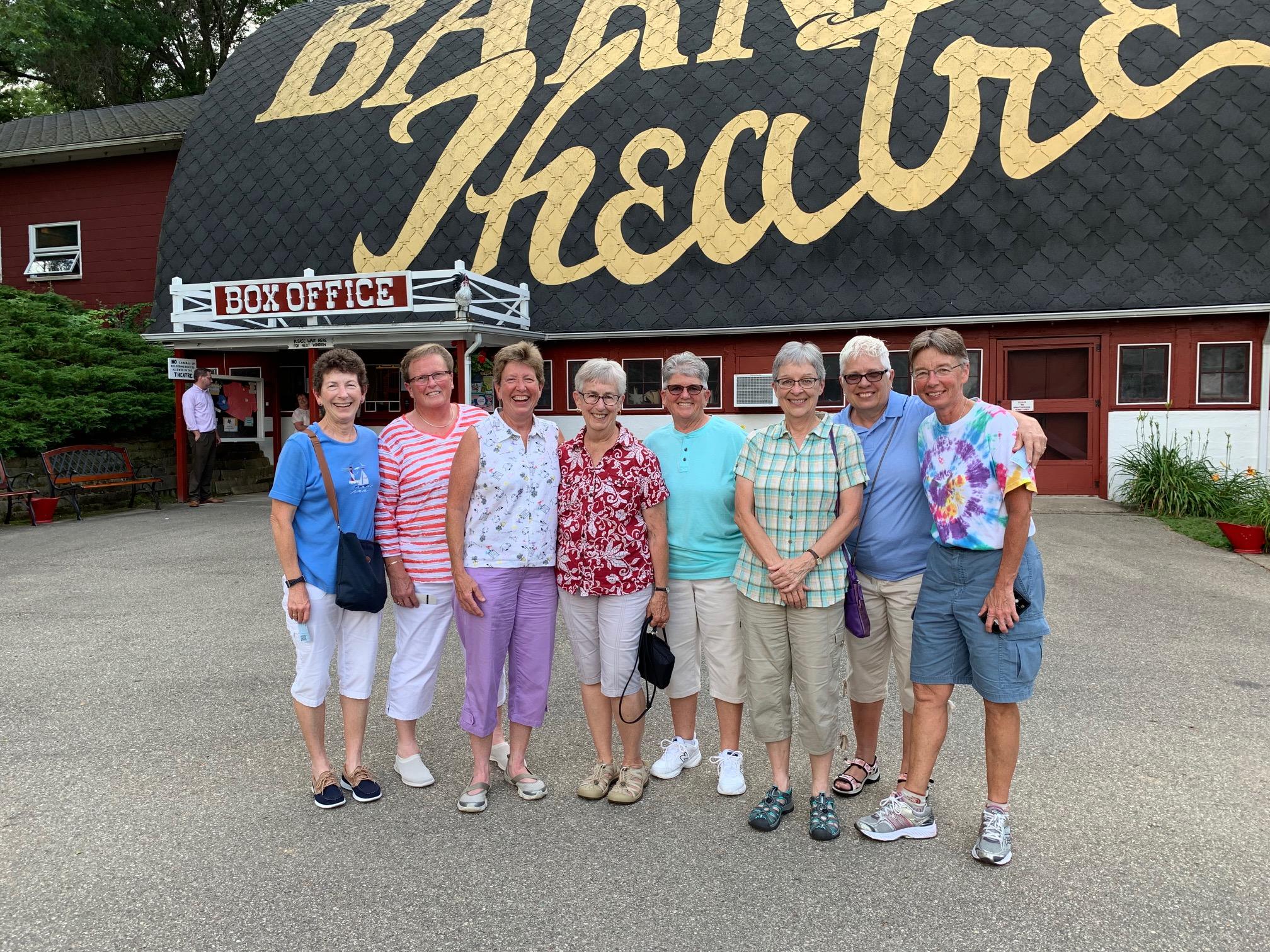 Group at the Barn
